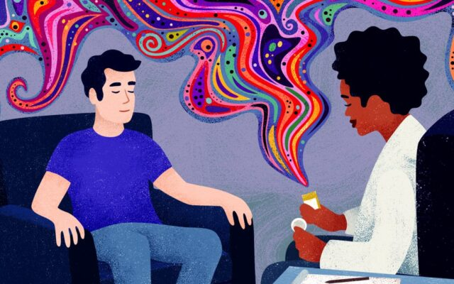 Can psychedelic drugs heal