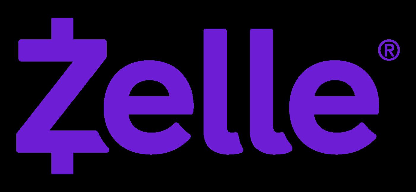 Zelle logo no tagline RGB purple